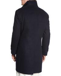 Brunello Cucinelli Flannel Wool Button Front Vest Brown