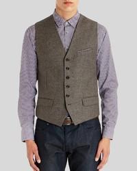 Ted Baker Topswai Wool Blend Waistcoat