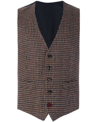 Tweed fitted waistcoat medium 5144095