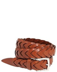 25mm woven leather belt medium 3706279