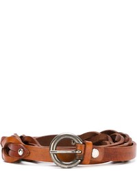Al duca daosta 1902 woven belt with studding medium 638923