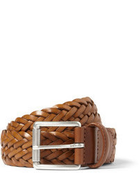 Andersons Andersons Brown 35cm Woven Leather Belt