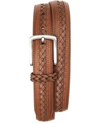 Tommy Bahama Braided Inlay Leather Belt