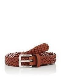 Barneys New York Braided Leather Belt