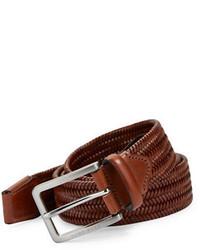 Hugo Boss Braided Leather Belt