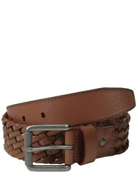 Original Penguin Braided Leather Belt