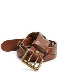Polo Ralph Lauren Braided Vachetta Leather Belt