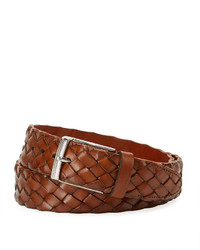 Brunello Cucinelli Braided Woven Leather Belt