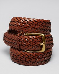 Ralph Lauren Collection Accessories Sportsman Braided Leather Belt