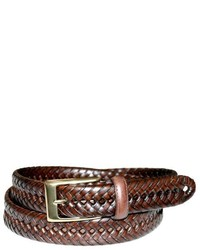 Dockers 30mm Big Tall Glazed Top Braided Belt