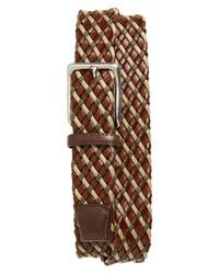 Torino Belts Leather Cotton Belt