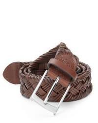 Robert Graham Henson Braided Leather Belt