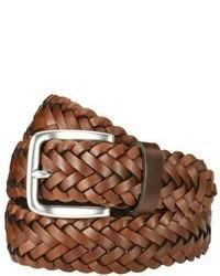 Merona Small Braid Belt Brown Tm