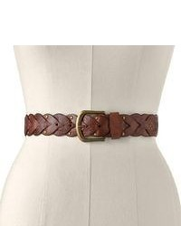 Sonoma goods for lifetm braided riveted belt medium 53062
