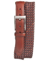 Torino belts woven leather belt medium 709703