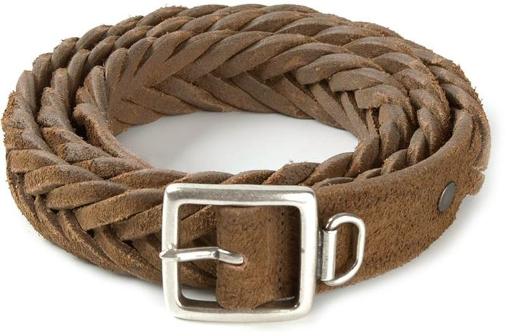 Golden Goose Deluxe Brand Woven Belt