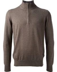 Fay Zip Neck Sweater