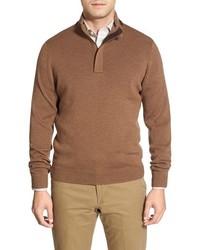 John W. Nordstrom John W Nordstrom Merino Wool Quarter Zip Pullover