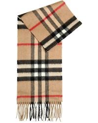 nuevo baratas proporcionar una gran selección de clásico Comprar una bufanda a cuadros marrón claro: elegir bufandas ...