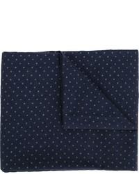 Bufanda a lunares azul marino de Engineered Garments