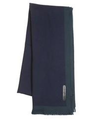 Bufanda azul marino de Ermenegildo Zegna