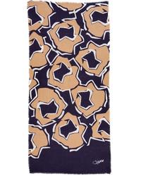 Bufanda azul marino de Diane von Furstenberg
