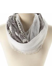 Bufanda blanca