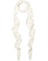 Bufanda blanca de Balenciaga