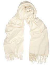 Bufanda blanca de Burberry