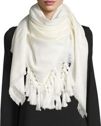 Bufanda blanca de Chloé