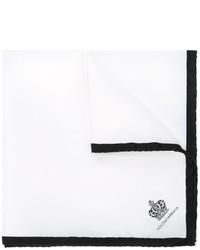 Bufanda blanca de Dolce & Gabbana