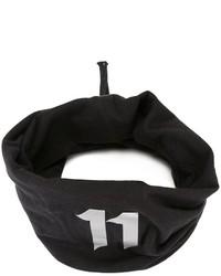 Bufanda bordada negra de 11 By Boris Bidjan Saberi
