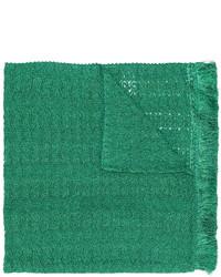 Bufanda bordada verde de Missoni