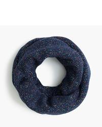 Bufanda de algodón azul marino de J.Crew