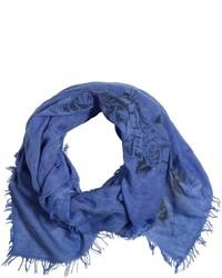 Bufanda de algodón azul de Myths
