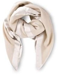 Bufanda de algodón en beige