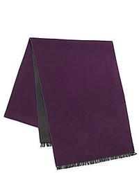 Bufanda de algodón morado oscuro