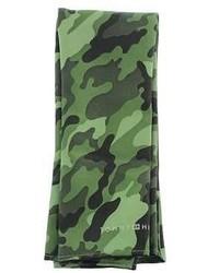 Bufanda de camuflaje verde