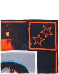 Bufanda de Estrellas Negra de Givenchy