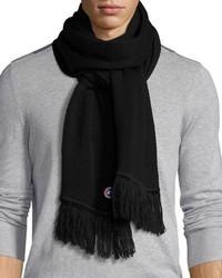 Bufanda de lana azul marino de Canada Goose