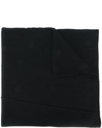 Bufanda de lana de punto negra de Isabel Benenato