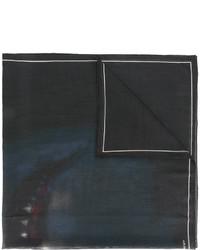 Bufanda de lana estampada negra de Givenchy