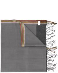 Bufanda de lana gris de Paul Smith