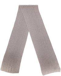 Bufanda de lana marrón claro de Canali