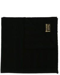 Bufanda de lana negra de Golden Goose Deluxe Brand