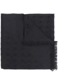 Bufanda de lana negra de Versace