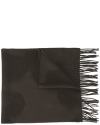 Bufanda de lana tejida en marrón oscuro de Libertine-Libertine