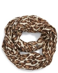 Bufanda de leopardo en beige de Kate Spade
