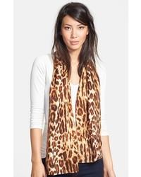 Bufanda de Leopardo Marrón de Echo