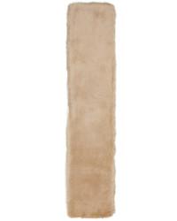 Bufanda de pelo en beige de Carven